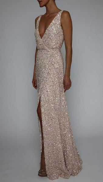 Long Sequin Evening Gowns ,fashion 2019 dress cg1893