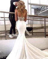 Charming Lace Sexy Backless Mermaid Jersey Prom Dresses cg1950