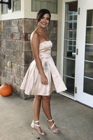 Simple Homecoming Dresses with Pockets, Short Homecoming Dresses Dancing Dresses cg1981