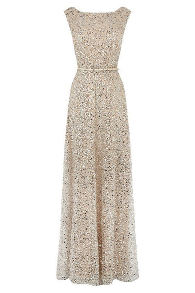 Gorgeous sequin prom evening gown  cg2012