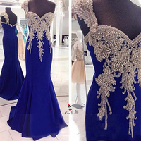 royal blue sparkle sequined long vestido de 15 anos prom dresses    cg20155