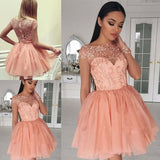 homecoming dresses short,beaded homecoming dresses,coral homecoming dresses cg225
