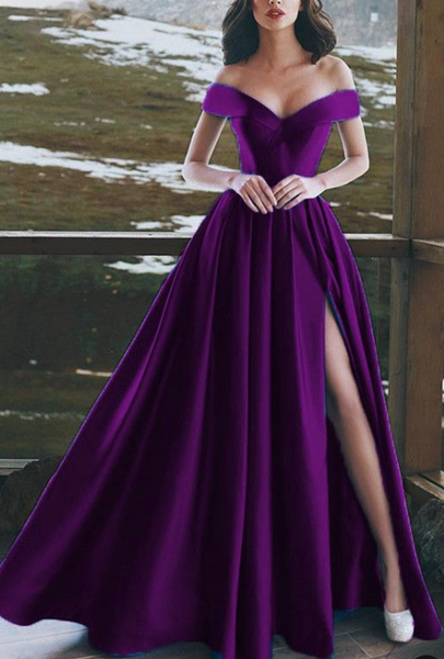 purple prom dresses,purple evening gown,long prom dress,sexy prom dresses cg2454