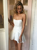 White short homecoming dress fashion cg2536