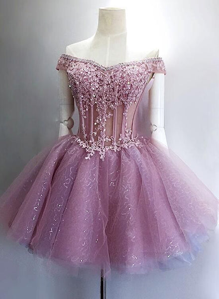 Unique Lace Beaded Cute Homecoming Dresses, Gorgeous Stunning Short Homecoming Dress cg262