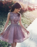 New Arrival Beteau Cute A line Homecoming Dress with Lace and Beading cg305