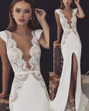 2019 Mermaid Prom Dress Evening Dress Sexy Prom dress cg4574