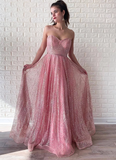 ELEGANT STRAPLESS SPARKLY PROM DRESSES, LONG PROM DRESS, EVENING DRESS cg4941