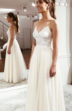 Elegant sweetheart tulle lace long prom dress, tulle evening dress cg5028