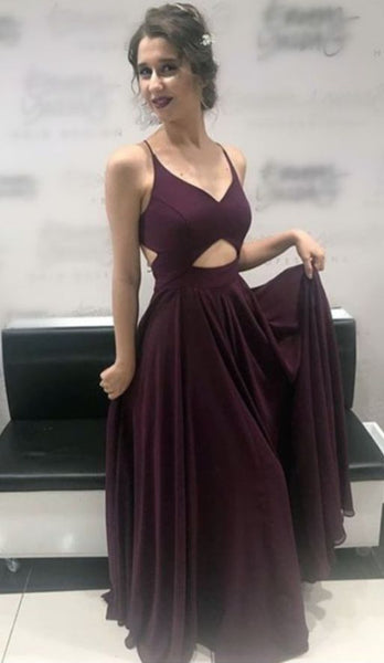 Grape Prom Dress, Long Prom Dresses Styles cg5069