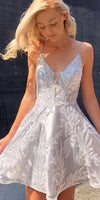 Custom Made Beaded Cute Homecoming Dress,Pageant Dress,Party Dress cg5197