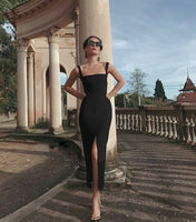 2020 black Prom Dress, Long Prom Dress Simple Prom Dress cg5228