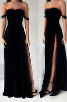 Gorgeous Black Prom Dresses,Elegant Evening Dresses cg5387