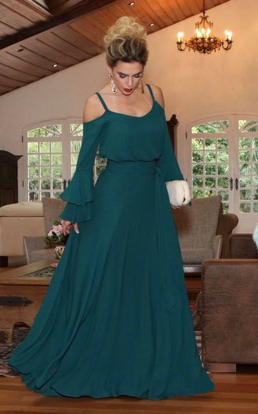 2020 green Prom Dress, Long Prom Dress, A Line Simple Prom Dress cg5395