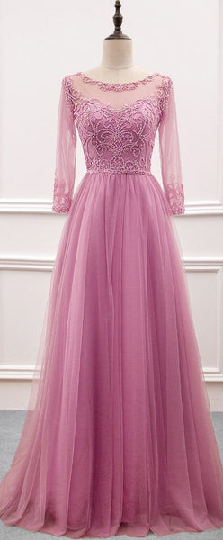 Charming Prom Dress,Tulle Prom Gown cg5412