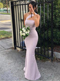 Charming One Shoulder Long Tight Prom Dresses cg5554