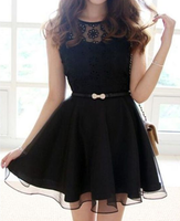black short homecoming dresses, simple short party dresses  cg5582