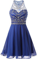 Fashion Short Beading Homecoming Dress  cg5635
