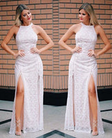 Sexy Women Evening Party Dress with slit  cg5702