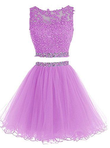 Purple Appliques Short Homecoming Dress, Elegant Graduation Dress,  cg5861
