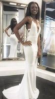 Cheap Prom Dresses White Mermaid Prom Dress Prom Dresses  cg5886