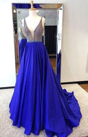 Beading Prom Dress,Royal Blue Prom Dress,Cheap Prom Dress,Long Prom Dresses,Prom Dresses,Evening Dress, Evening Dresses  cg5966