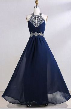 Elegant Beaded A Line Prom Dress, Formal Evening Gowns   cg5999