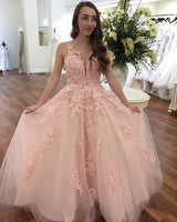 Princess Pink Long Prom Dress Graduation Dress  cg6090