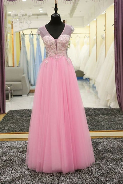 Charming Prom Dress, Floor Length Prom Dress,Long Evening Dress,Tulle Formal Evening Dress  cg6142