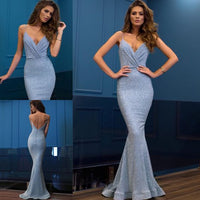 2020 blue  long prom dress sexy charming dress cg6163