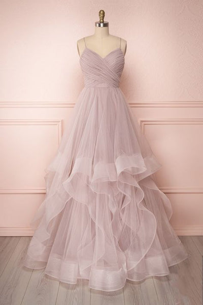 simple pink long prom dresses, ball gown prom gowns, cheap graduation party dresses for teens  cg6329