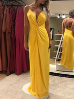 yellow Prom Dress , Charming Prom Dress  cg6395