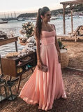 A-Line pink  Prom Dresses ,Evening Party Dresses  cg6573