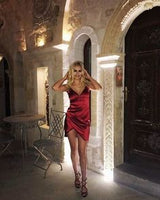 Sexy V Neck Burgundy Short Homecoming Party Dresses  cg6623