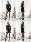 Hot Selling Spaghetti Straps V-neck Simple Homecoming Dresses cg853