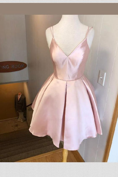 V-Neck Homecoming Dresses, Homecoming Dresses 2019 cg91