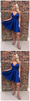Homecoming Dresses Simple, Cute Homecoming Dresses,Royal Blue Homecoming Dresses cg961