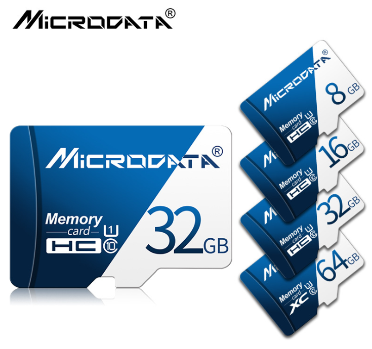 MicroData Class 10 SD Memory Card with Adapter