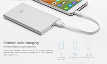 Load image into Gallery viewer, Mi Power Bank 5000mAh Super Slim10.7mm Thickness