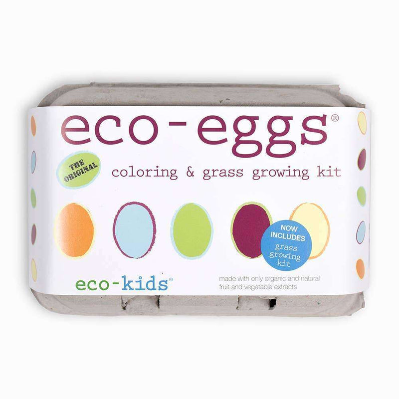 Eco-eggs coloring & grass growing kit - The Dashing Squad