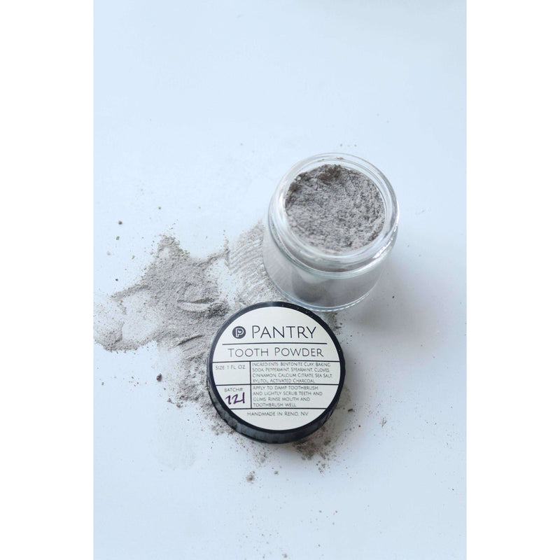 Smile Brightening Tooth Powder - Pantry Products - The Dashing Squad