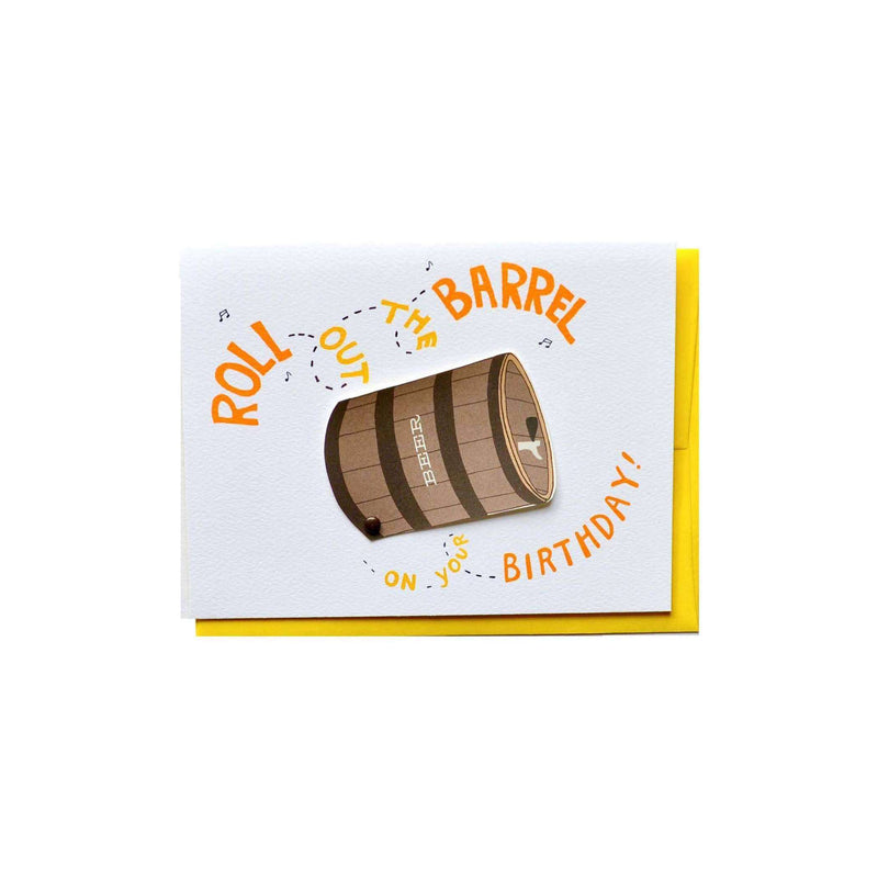 Roll Out The Barrel Birthday - Cracked Designs