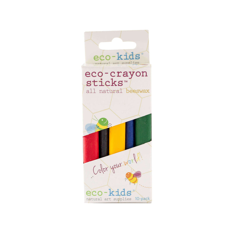 eco-kids - eco-crayon sticks - 5 pack - The Dashing Squad