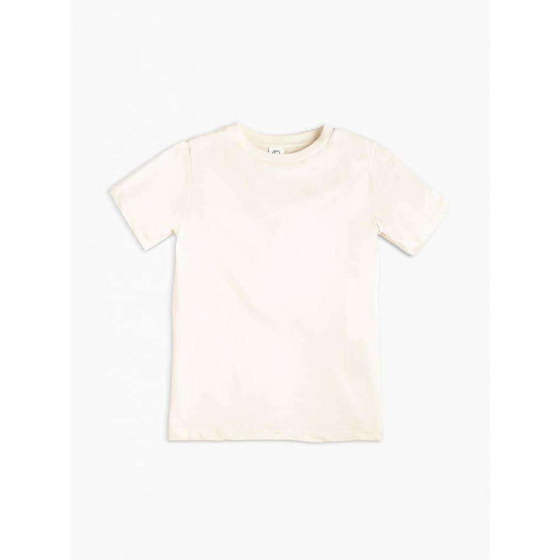 Colored Organics - Classic Crew Neck Tee - Natural - The Dashing Squad