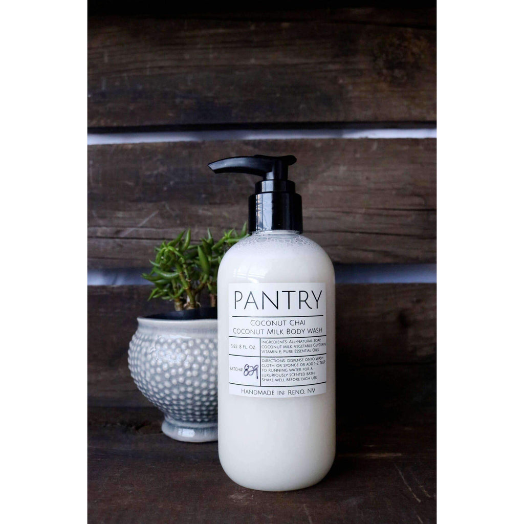 Coconut Milk Body Wash - 8oz. Pre-order - The Dashing Squad
