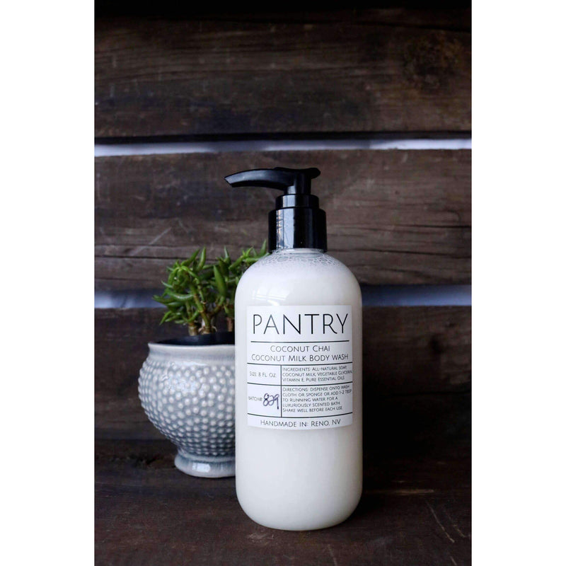 Pantry Products - Coconut Milk Body Wash - 8oz