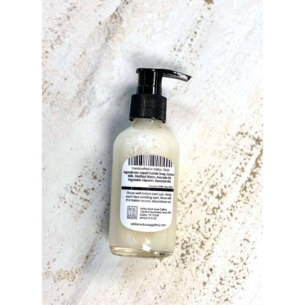 Coconut Milk Face Wash - The Dashing Squad