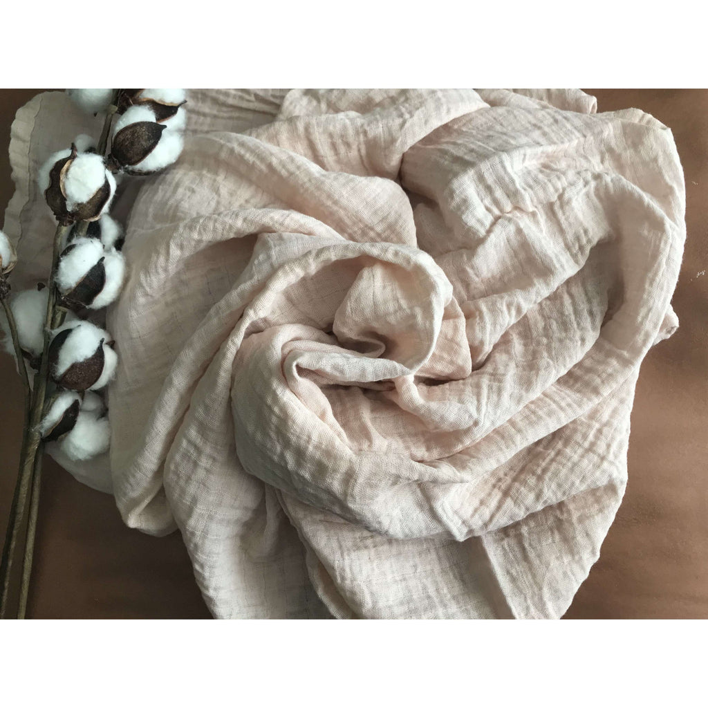 Naturally Dyed Organic Baby Swaddle
