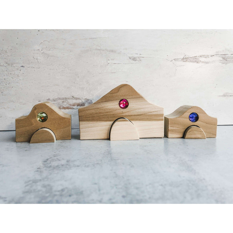 Fairy Houses Unfinished- 3pk