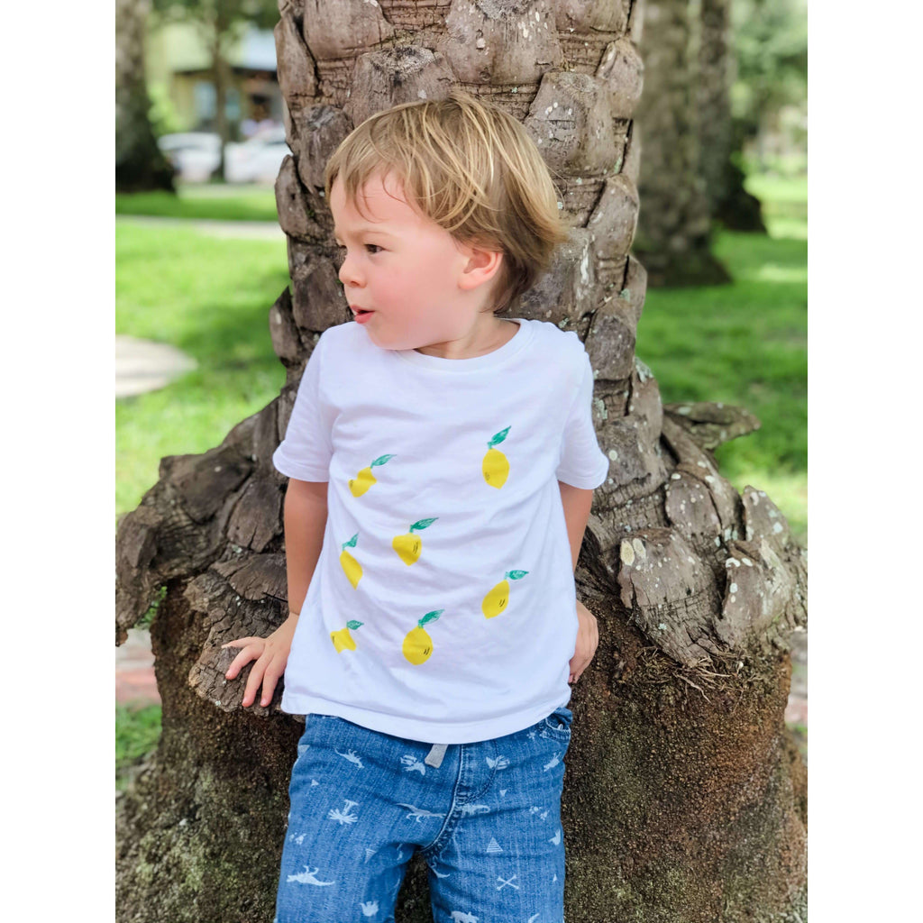 Lemon Organic Tee & Bodysuit - The Dashing Squad